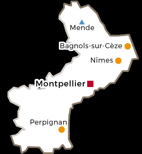 Centres Régionaux - 2016 - Languedoc-Roussillon