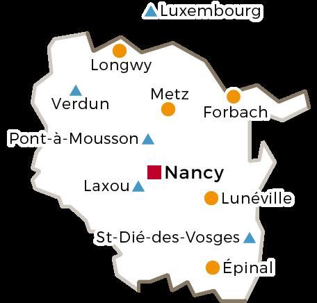 Centres Régionaux - 2016 - Lorraine