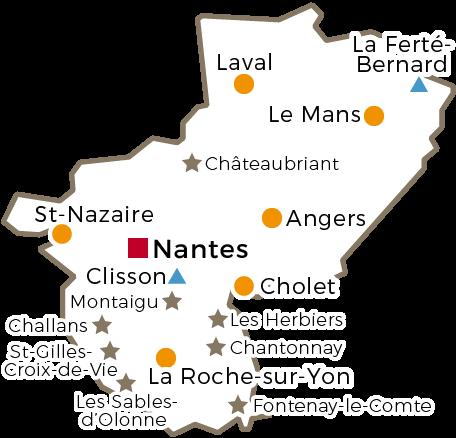 Centres Régionaux - 2016 - Pays de la Loire