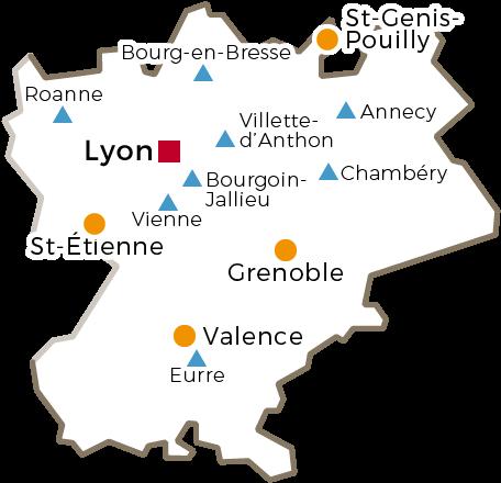 Centres Régionaux - 2016 - Rhône-Alpes