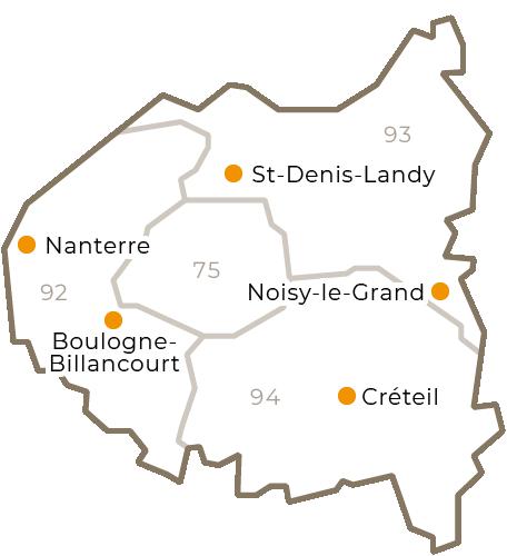 Centres régionaux 2019 -  Grand-Paris - grand