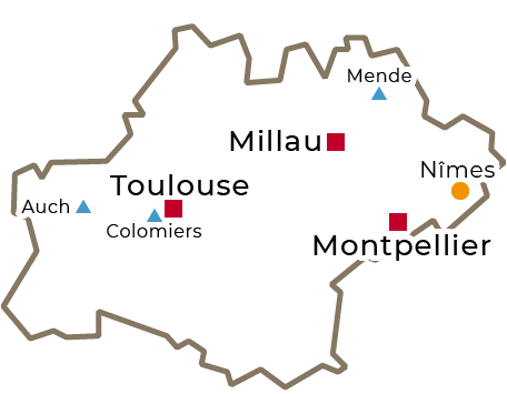 Centres régionaux 2019 - Occitanie - grand